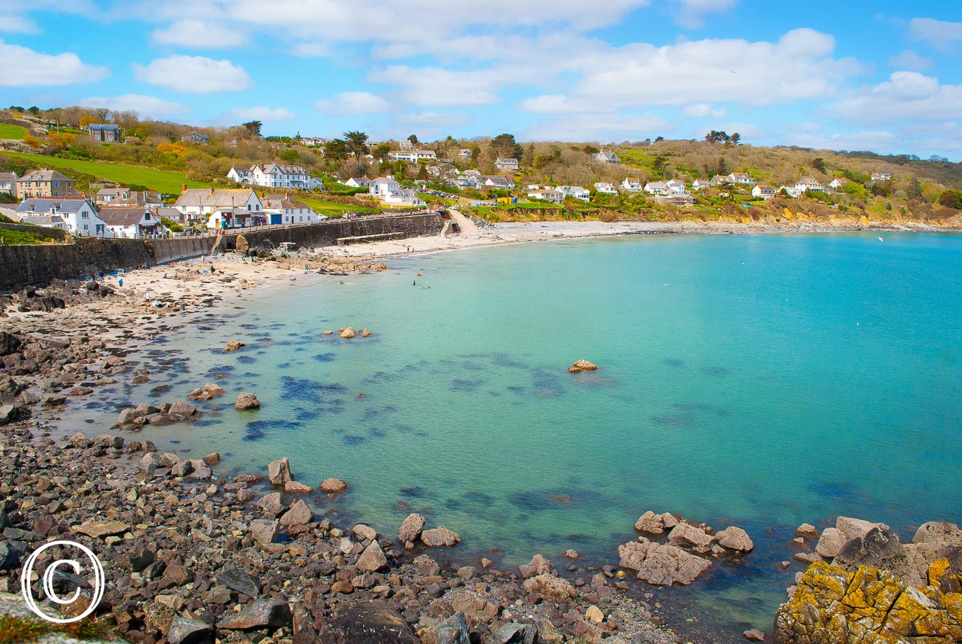 Coverack only a 5 minute drive from Tremenhere Barn.