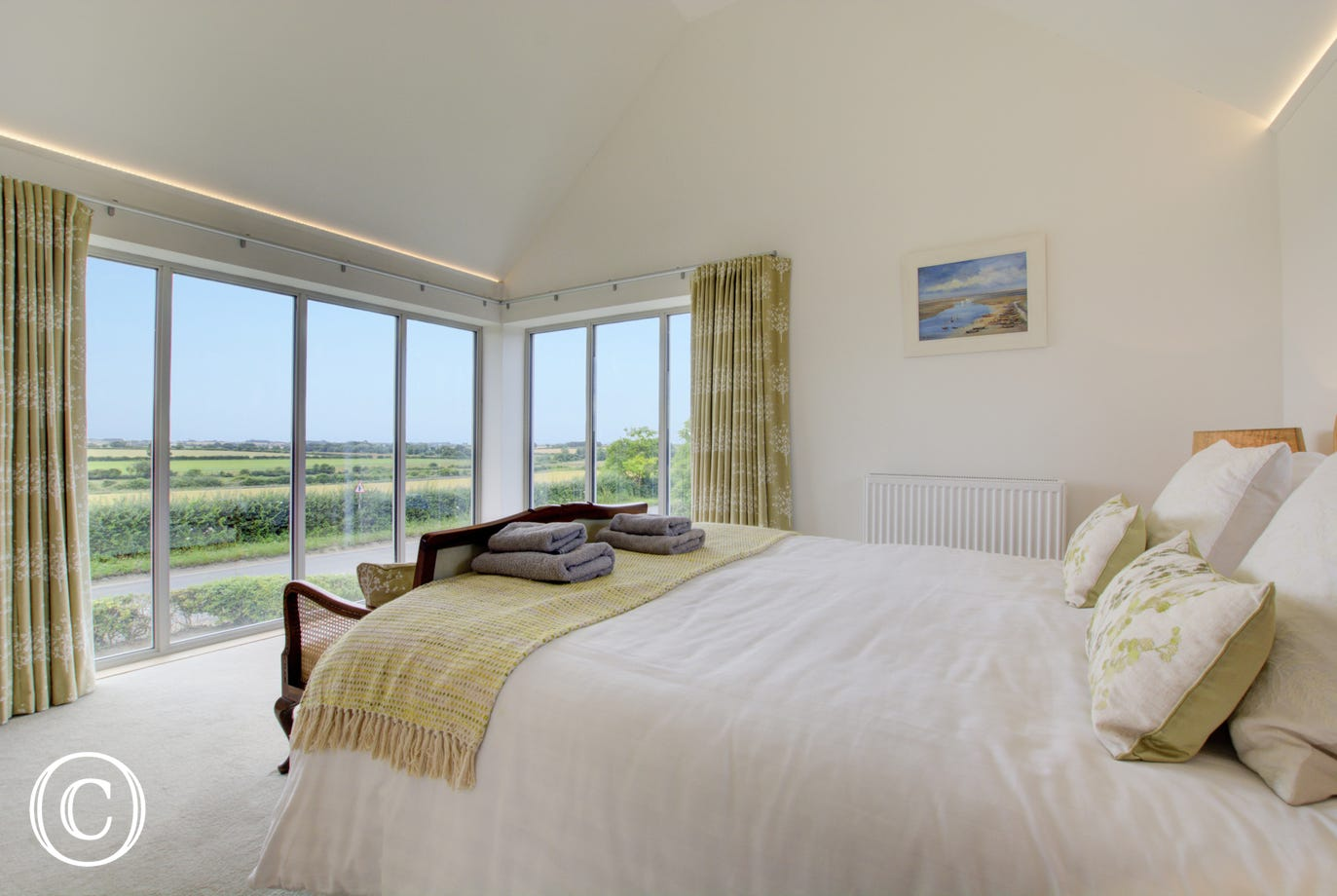 Stunning views from the main bedroom