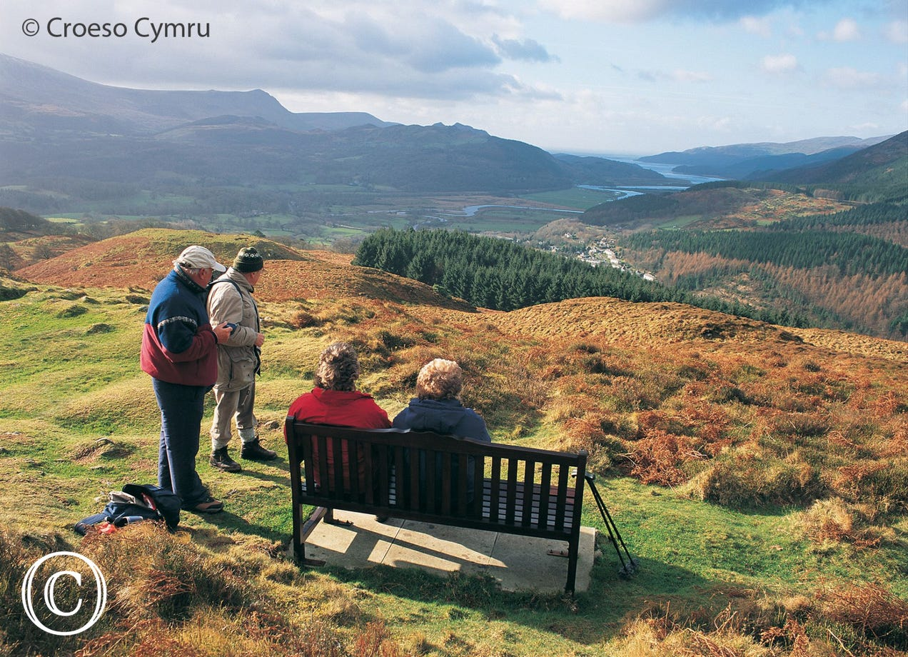 Precipice Walk, Dolgellau - just over 3 miles from your cottage