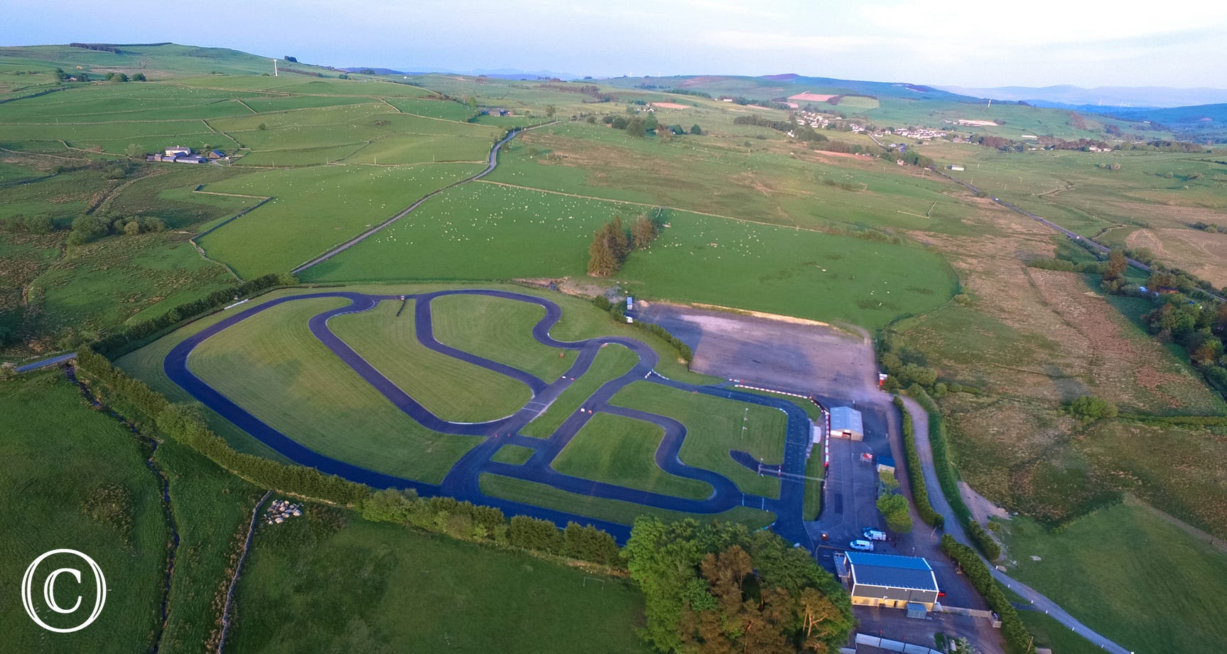 Championship go-karting circuit at Cerrig y Drudion to get the adrenalin flowing