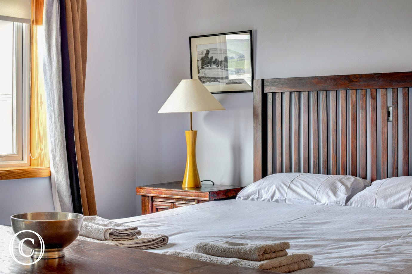 Spectacular Gwbert Holiday Cottage - bedroom